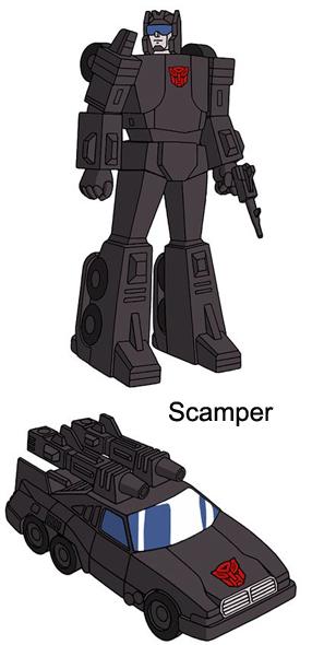 Virtual Transformers Tv Metroplex W Six Gun Scamper